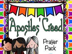 Apostles' Creed Prayer Pack