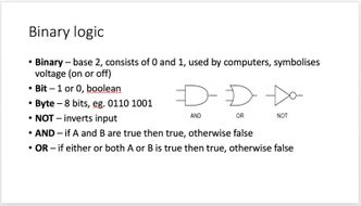 GCSE COMPUTING A* REVISION NOTES (POWERPOINT)