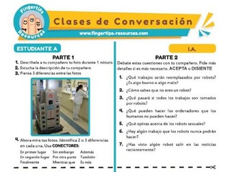Inteligencia artificial - Spanish Speaking Activity