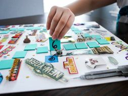 Cut Out and Keep Board Game