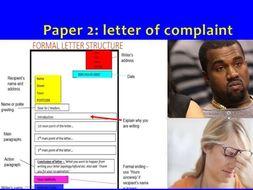 Gcse english language grade 9 letter of complaint full lesson by gcse english language grade 9 letter of complaint full lesson spiritdancerdesigns Images