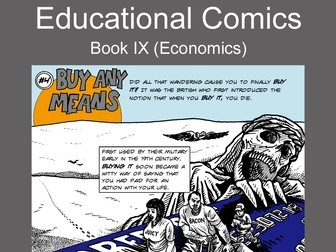 Educational Comics: Buy Any Means