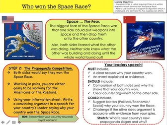Cold War Who won the Space Race?