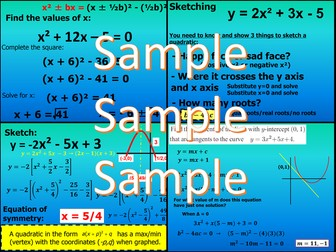 Quadratic Functions - Chapter 1 - International Baccalaureate - Standard Level