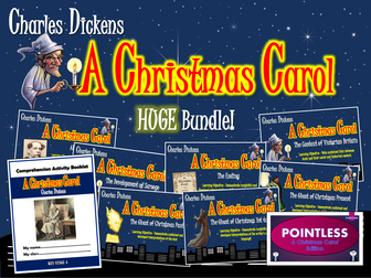 A Christmas Carol Huge Bundle!