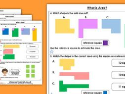 FREE Year 4 What is Area? Spring Block 2 Maths Homework Extension