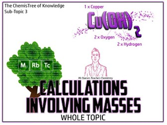 GCSE Chemistry 1-9: Calculations Involving Masses PowerPoint / Unit Of Work