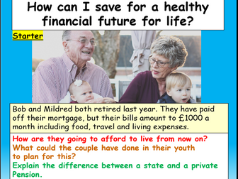 Finance : saving + investing