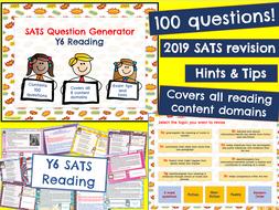 Y6 Reading: KS2 SATS Revision