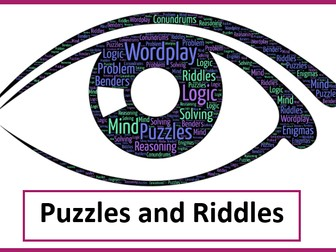 Riddles and Puzzles (End of term)