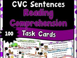 CVC Sentences for Reading Comprehension