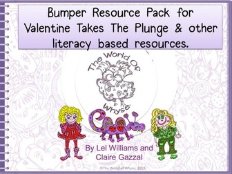 Bumper Book 1 Resource Pack – Valentine Takes The Plunge by The World of Whyse.