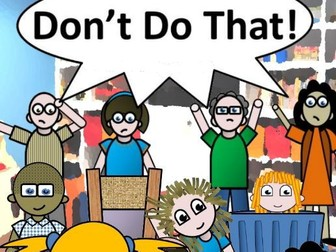 Don't Do That! (Simple picture book)