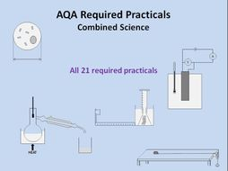 Required Practicals - All 21 for AQA Combined Science