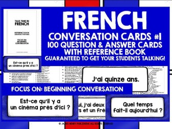 FRENCH SPEAKING PRACTICE 1