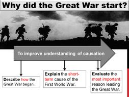 what were the short term causes of ww1