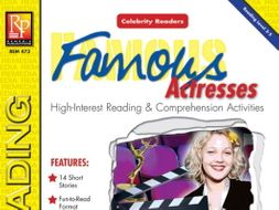 Celebrity Readers: Famous Actresses