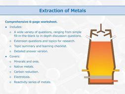 Extraction of Metals [Worksheet]