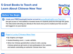 5 Great Books for Chinese New Year