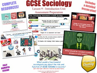 Preparing for Assessments - Introduction Unit L9/12 - GCSE Sociology