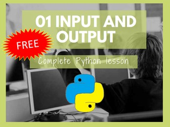 Python Input and Output