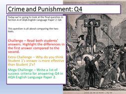 AQA Language Paper 2 Q4 Comparison