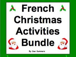French Christmas Activities Bundle - Noël