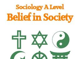 AQA Sociology A Level - Religion & Belief Booklet