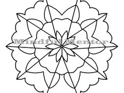 coloring pages : Simple Mandala Coloring Pages Fresh 28 Awesome Collection Mandala  Coloring Book Free Simple Mandala Coloring Pages ~ affiliateprogrambook.com | 190x254