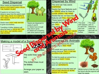 Seed Dispersal by Wind and Animals