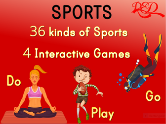 ESL Sports Interactive Whiteboard Games