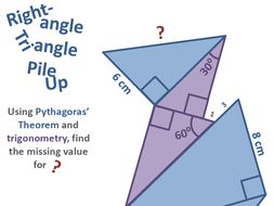 Right-Angle Triangle Pile Up
