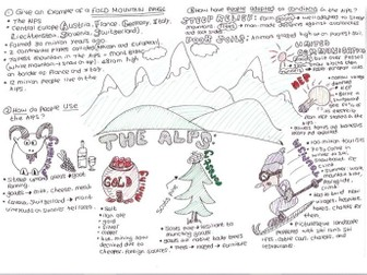 The Alps: Fold Mountains: Exam Revision