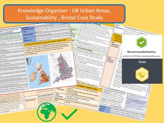 Knowledge Organiser AQA 9-1: Bristol Case Study, UK City and Sustainability.