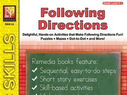 Beginning Following Directions Skills 1