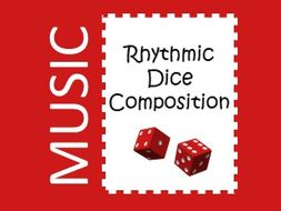 Music Rhythmic Dice Composition