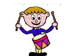 If I Had A Drum I'd Play It Every Day - Preschool Song, Video & Sheet Music