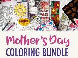 Mother's Day Coloring Bundle