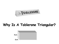 Why is a Toblerone Triangular?