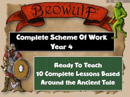 BEOWULF  COMPLETE ENGLISH UNIT