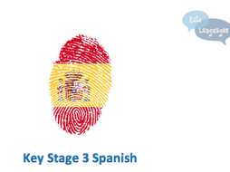Spanish Key Stage 3 resources - New GCSE-style activities