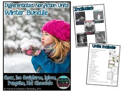Differentiated Nonfiction Units: Winter Bundle