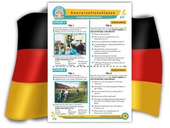 Erdkunde - German Speaking Activity