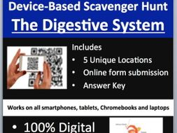 The Digestive System - Device-Based Scavenger Hunt Activity -Let the Hunt begin!
