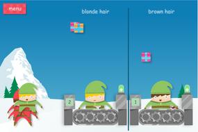 Elf Sorter Interactive Game - Christmas KS1/KS2