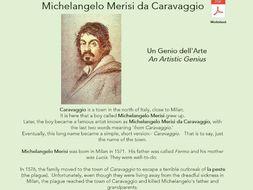 Famous Artists: Michelangelo, Caravaggio, Leonardo da Vinci, Picasso