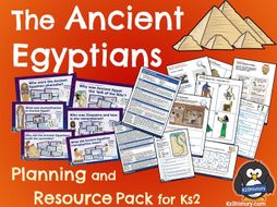 Ancient Egyptians Planning Pack