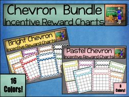 Chevron Reward Chart Bundle