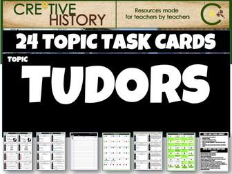 Tudor England History Task cards