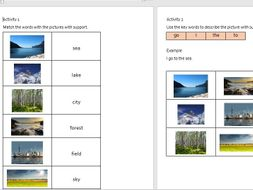 Eal Literacy Topic 19 Environment By Nadiawilliams Teaching